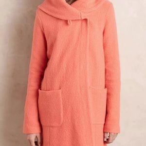 Moth Women's Wool Coral Sweater Coat